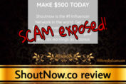 ShoutNow.co scam review