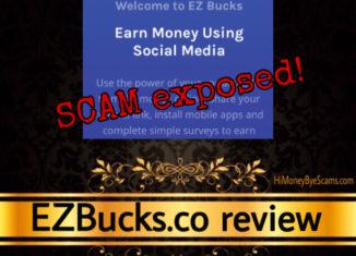EZBucks.co review scam