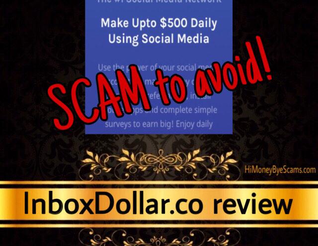 InboxDollar.co review scam