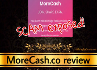 MoreCash.co scam review