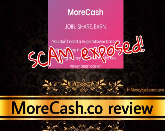 MoreCash.co scam review