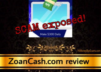 ZoanCash.com scam review
