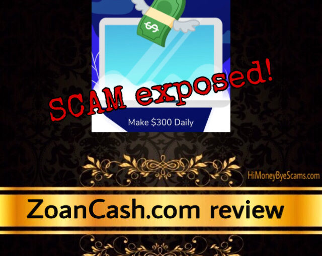 ZoanCash.com scam review