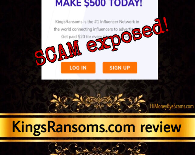 KingsRansoms review scam