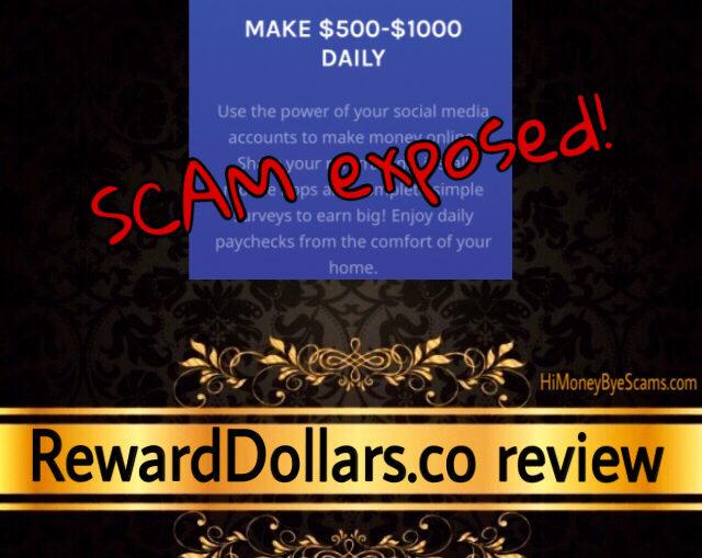 RewardDollars.co review scam