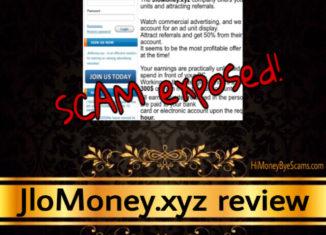 JloMoney.xyz scam review