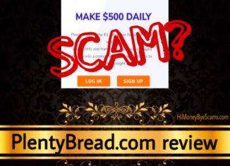 PlentyBread.com scam review