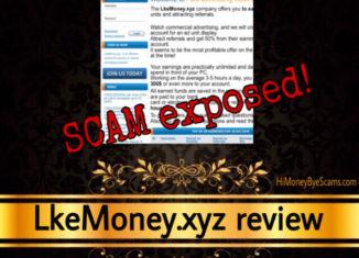 LkeMoney.xyz scam review
