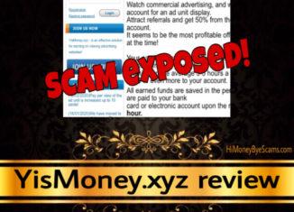 YisMoney.xyz review scam
