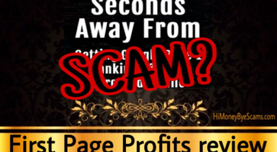 First Page Profits review scam