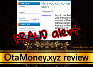 OtaMoney.xyz review scam