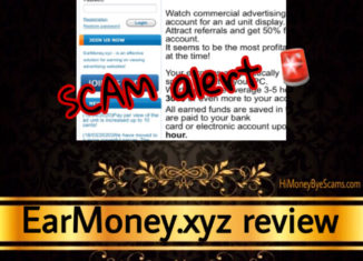 EarMoney.xyz scam review