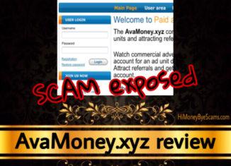 AvaMoney.xyz review scam