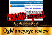 OgMoney.xyz review scam