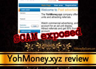 YohMoney.xyz review scam