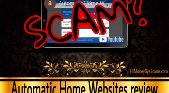 Automatic Home Websites review scam