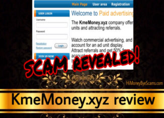 KmeMoney.xyz review scam