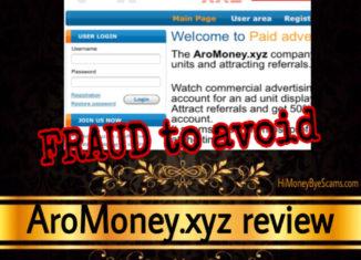 AroMoney.xyz review scam