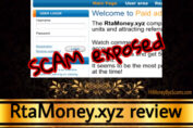 RtaMoney.xyz review scam