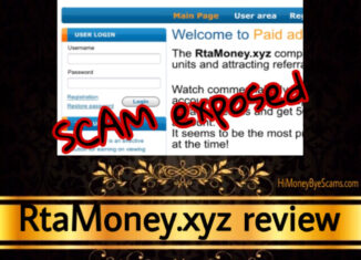 RtaMoney.xyz review scam