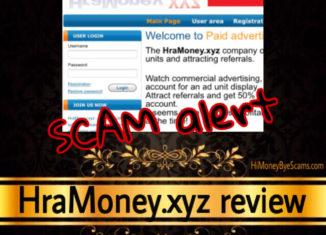 HraMoney.xyz review scam