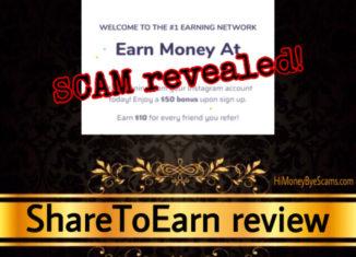 ShareToEarn review scam