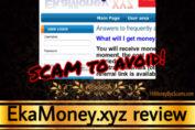 EkaMoney.xyz review scam