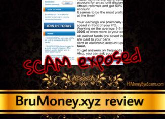 BruMoney.xyz review scam