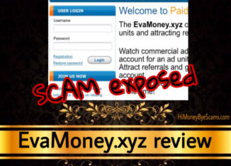 EvaMoney.xyz review scam