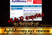 AyhMoney.xyz review scam
