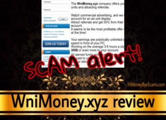 WniMoney.xyz review scam