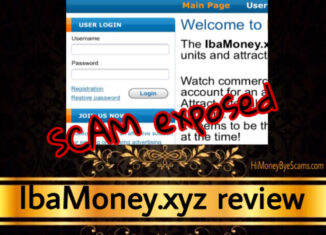 IbaMoney.xyz review scam