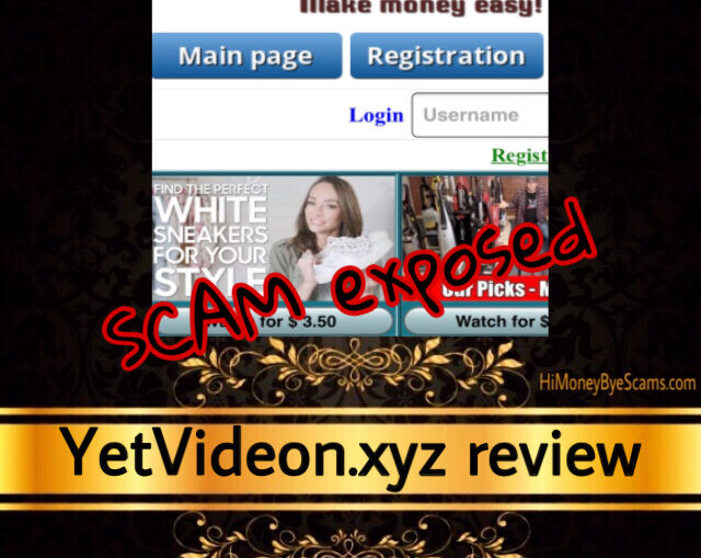 YetVideon.xyz review scam
