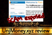 UnjMoney.xyz review scam