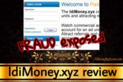 IdiMoney.xyz review scam