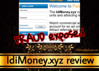 IdiMoney.xyz review scam