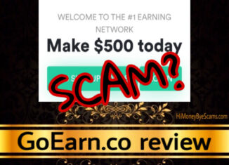 GoEarn.co review scam