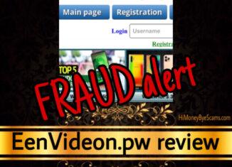 EenVideon.pw review scam