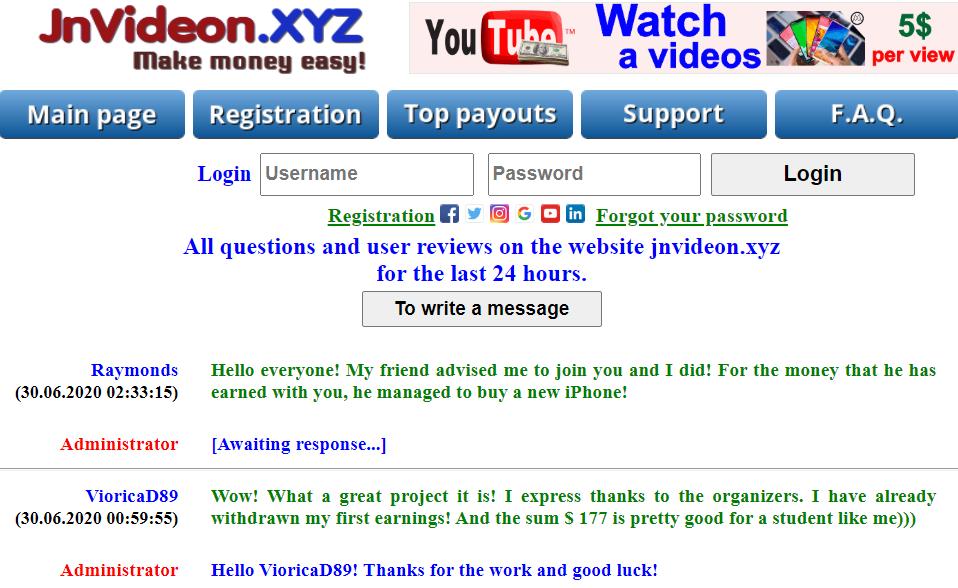 JnVideon.xyz review fake
