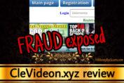 CleVideon.xyz review scam
