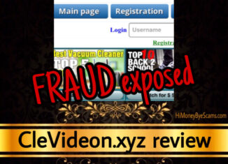 CleVideon.xyz review scam