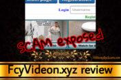 FcyVideon.xyz review scam