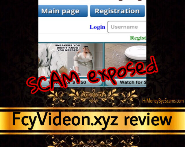 FcyVideon.xyz review scam