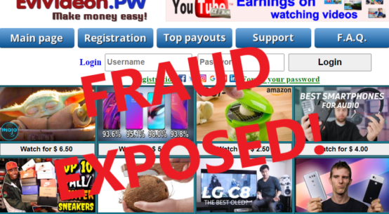 EviVideon.pw review scam