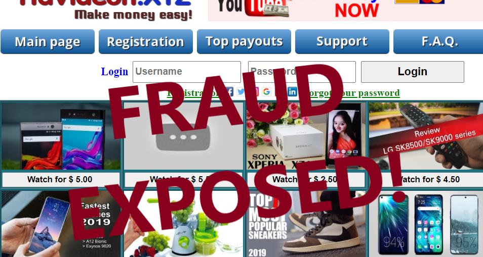 YfaVideon.xyz review scam