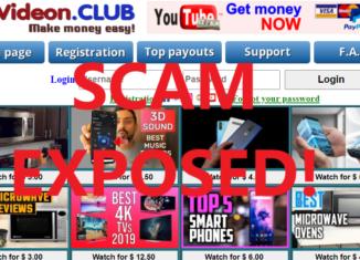 EgVideon.club review scam