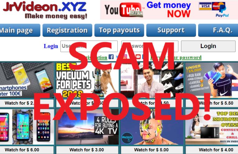 JrVideon.xyz review scam