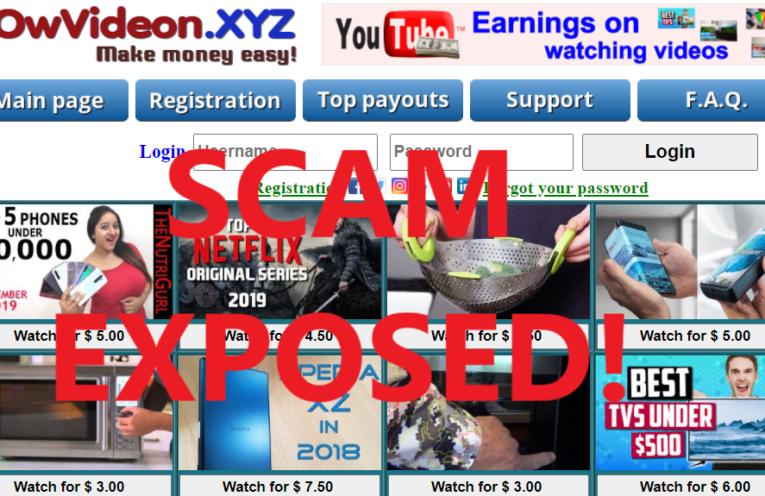 OwVideon.xyz review scam
