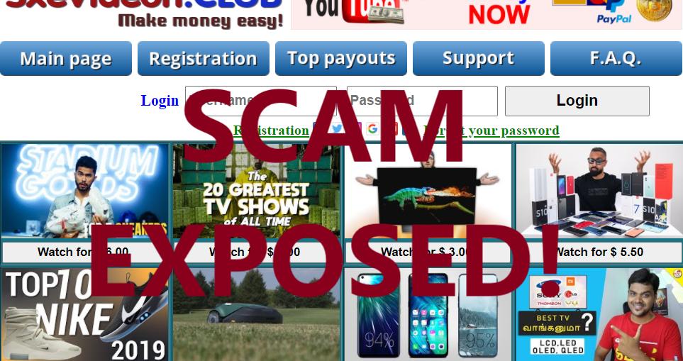 SxeVideon.club review scam