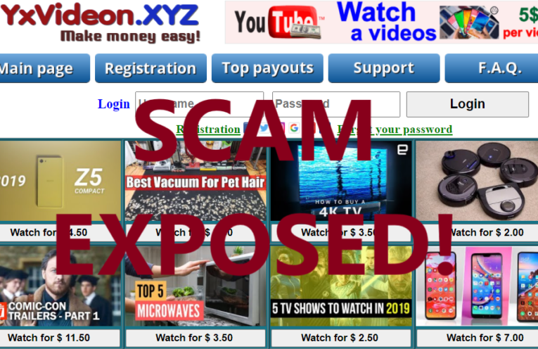 YxVideon.xyz review scam